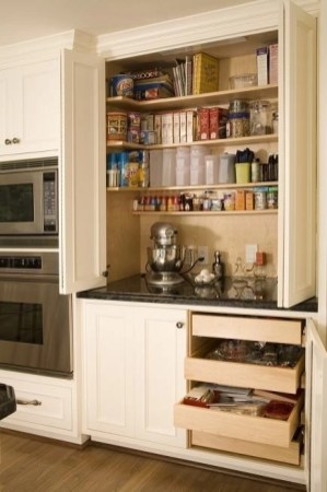 Kitchen pantry ideas with form and function 27