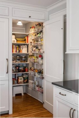 Kitchen pantry ideas with form and function 33