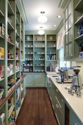 Kitchen pantry ideas with form and function 36