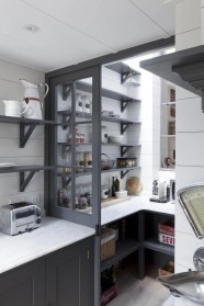 Kitchen pantry ideas with form and function 37