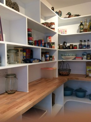 Kitchen pantry ideas with form and function 42