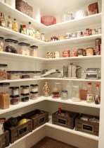 Kitchen pantry ideas with form and function 43