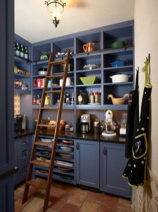 Kitchen pantry ideas with form and function 44