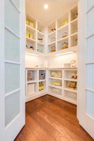 Kitchen pantry ideas with form and function 47