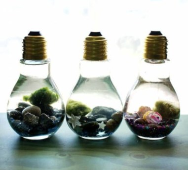 Simple ideas for adorable terrariums 33