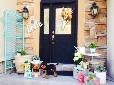 Spring decor ideas for your front porch 22