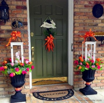 Spring decor ideas for your front porch 29