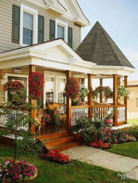 Spring decor ideas for your front porch 30