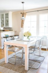 Stunning ways to re-decorate your dining room 07