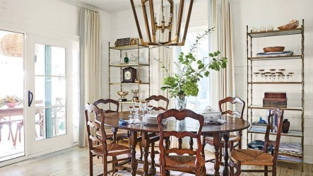 Stunning ways to re-decorate your dining room 18