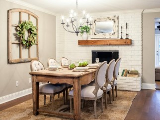 Stunning ways to re-decorate your dining room 42