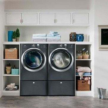 Beautiful and functional laundry room design ideas to try 08