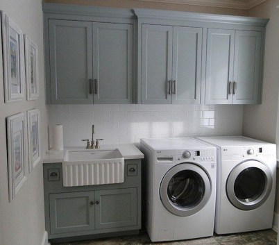 Beautiful and functional laundry room design ideas to try 17