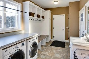 Beautiful and functional laundry room design ideas to try 29
