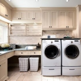 Beautiful and functional laundry room design ideas to try 34