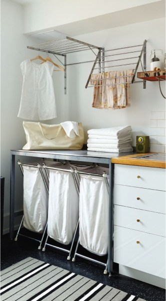 Beautiful and functional laundry room design ideas to try 44