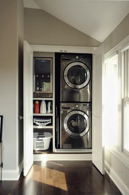 Beautiful and functional laundry room design ideas to try 51