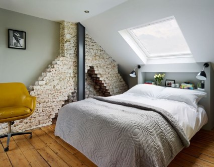 Cizy loft bedroom design ideas for small space 03