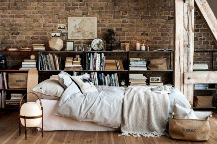 Cizy loft bedroom design ideas for small space 04