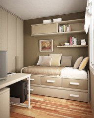 Cizy loft bedroom design ideas for small space 12