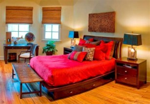 Fascinating bedroom ideas with beautiful decorating concepts 29