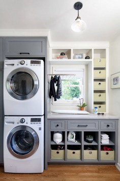 Laundry room design ideas that will maximize your small space 35