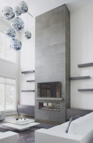 Beautiful fireplace decorating ideas to copy for your own 36