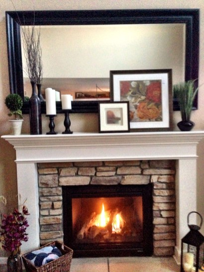 Beautiful fireplace decorating ideas to copy for your own 40