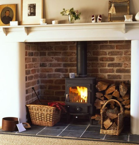 Beautiful fireplace decorating ideas to copy for your own 45