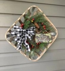 On a budget diy christmas wreath to deck out your door 27