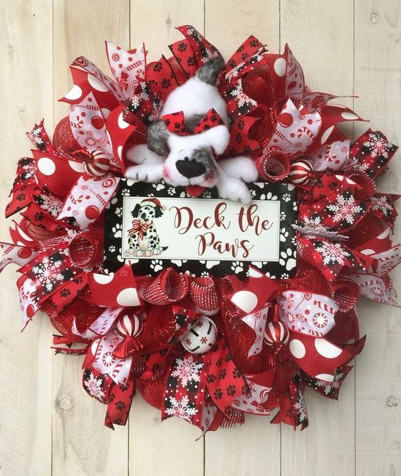 On a budget diy christmas wreath to deck out your door 35