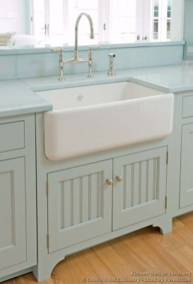 Top farmhouse sink designs for your lovable kitchen 06