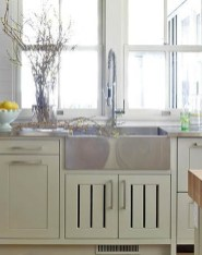 Top farmhouse sink designs for your lovable kitchen 19