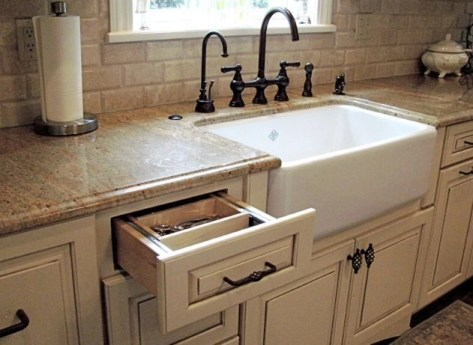 Top farmhouse sink designs for your lovable kitchen 49