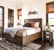 Awesome rustic bedroom furniture ideas to get the farmhouse charm 07