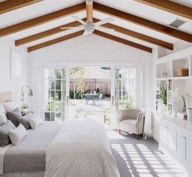 Awesome rustic bedroom furniture ideas to get the farmhouse charm 19