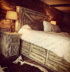 Awesome rustic bedroom furniture ideas to get the farmhouse charm 36