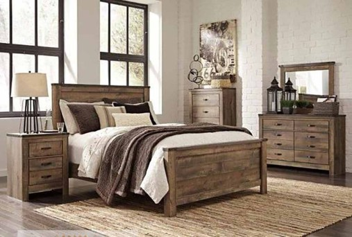 Awesome rustic bedroom furniture ideas to get the farmhouse charm 41