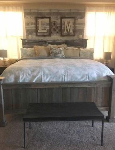 51 Awesome Rustic Bedroom Furniture Ideas To Get The Farmhouse Charm Godiygo Com