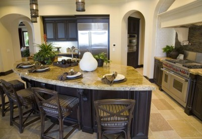 Awesome yet functional kitchen island design ideas 07