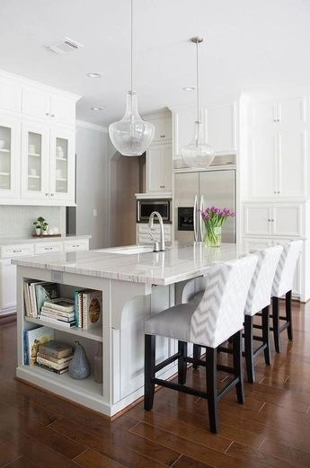 Awesome yet functional kitchen island design ideas 08
