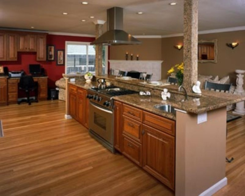 Awesome yet functional kitchen island design ideas 09