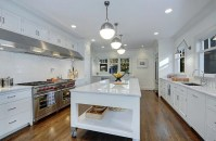 Awesome yet functional kitchen island design ideas 14