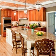 Awesome yet functional kitchen island design ideas 15