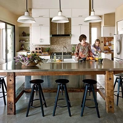 Awesome yet functional kitchen island design ideas 25