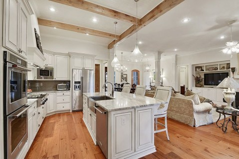 Awesome yet functional kitchen island design ideas 27