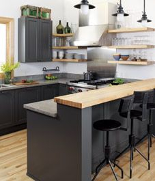 Awesome yet functional kitchen island design ideas 31