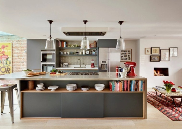 Awesome yet functional kitchen island design ideas 38
