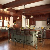 Awesome yet functional kitchen island design ideas 43