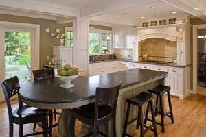 Awesome yet functional kitchen island design ideas 47
